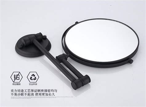 Antique Black Inch Bathroom Mirrors Magnifying Mirror