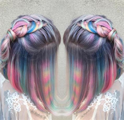 Moonstone Hair Is The New Striking Take On Rainbow Bright