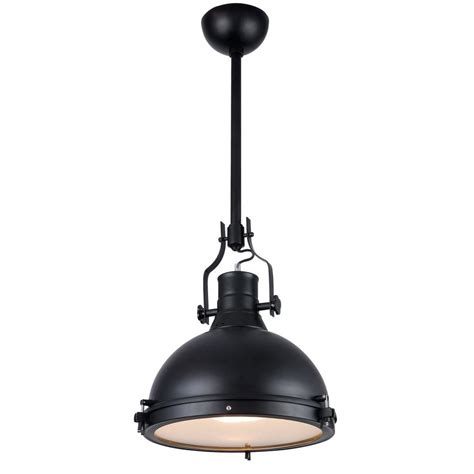 lights for kitchen islands lighting industrial 1 light black pendant l