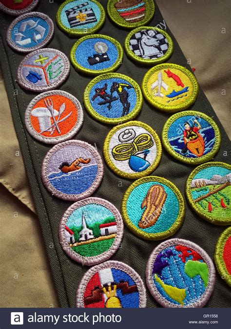 Scouting Merit Badge Stock Photos & Scouting Merit Badge ...