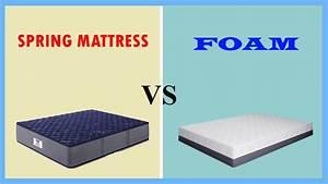futon mattress vs foam