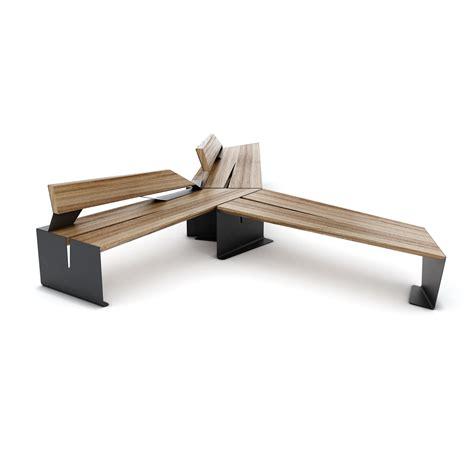 Panchine Legno by Cekta Wood Arredo Urbano Panchine Lab23