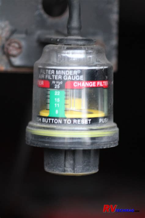 can a bad air filter cause check engine light diesel motorhome chassis service