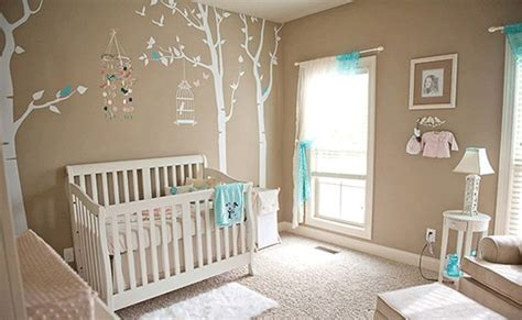 Tree Wall Decal For Baby Room Decorating Baby's Nursery
