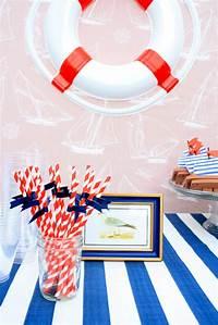 nautical theme decor Jett's Nautical Birthday Party - House of Jade Interiors Blog