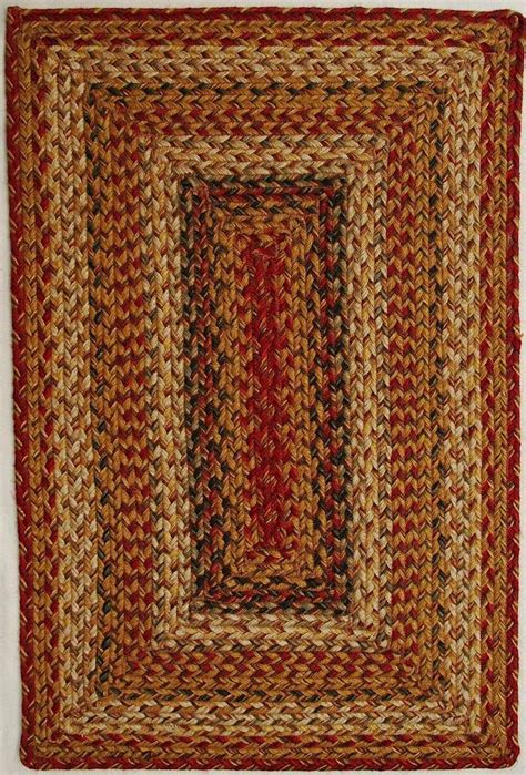 mustard area rug homespice decor mustard seed braided area rug collection