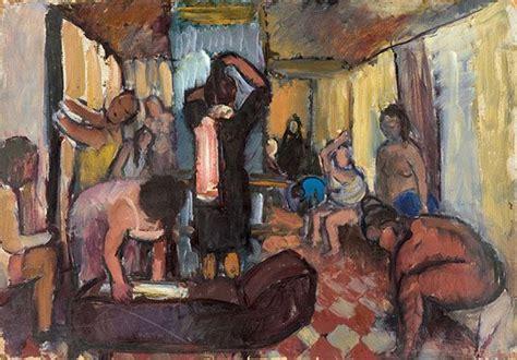 In The Bathhouse (1946), Biruta Baumane | Art, Painting ...