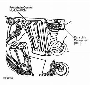Part Location  Location Of Powertrain Control Module On A