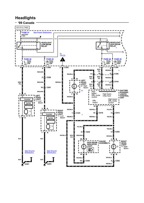 2001 Acura Rl Wiring Diagram by Repair Guides Wiring Diagrams Wiring Diagrams 72 Of
