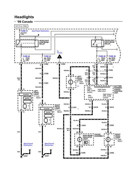 2006 Acura Rl Wiring Diagram by Repair Guides Wiring Diagrams Wiring Diagrams 72 Of