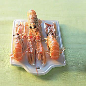 cuisiner les langoustines recettes avec langoustine toutes les recettes