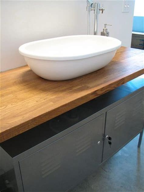 Ikea Vessel Sink Vanity by Looking To Rev Your Bathroom Two Diy Vanities