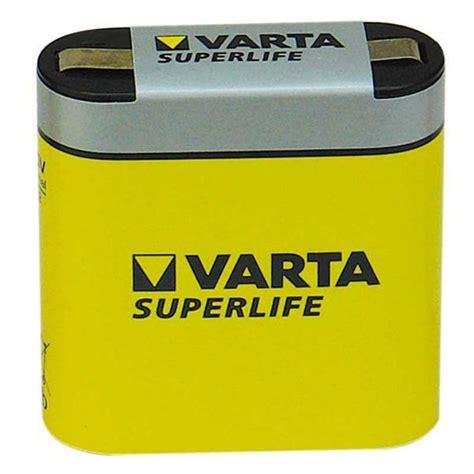 batterij varta   superlife platte batterij