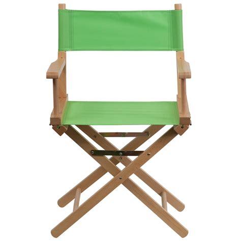 Standard Height Directors Chair In Green