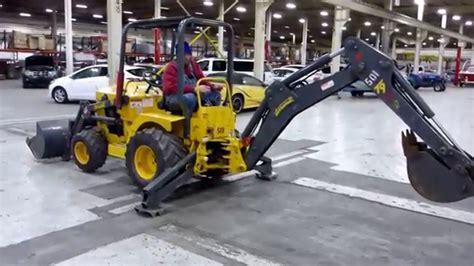 2013 Terramite T9 Mini Backhoe Kubota Diesel
