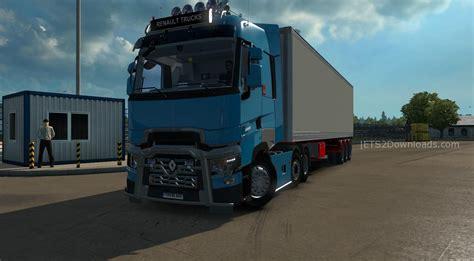 renault truck interior renault t new interior v6 0 ets2 world