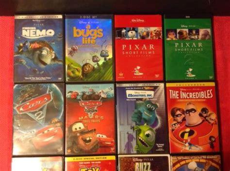 The Gallery For --> Disney Pixar Dvd Menu