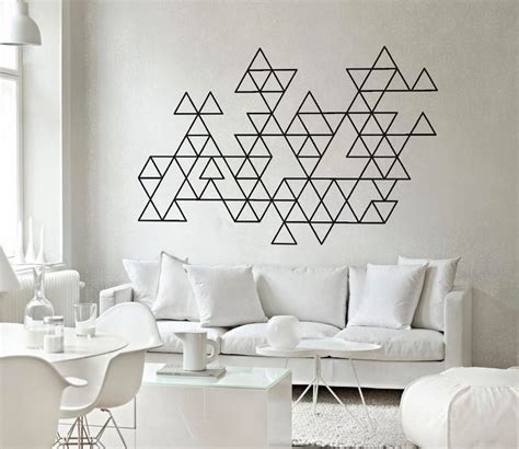geometric wall design 40 geometric designs to give your home the right of edge