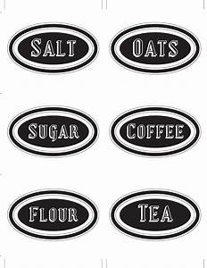 this designer cooks free printable canister labels With canister labels printables