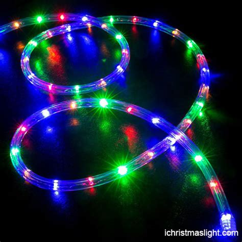 decorative color changing led rope light ichristmaslight