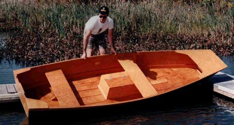 Wooden Jon Boat by Wooden Motor Boat Builders Oja