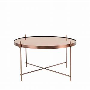 Table Basse Design Verre : table basse ronde en verre design id es de d coration int rieure french decor ~ Teatrodelosmanantiales.com Idées de Décoration