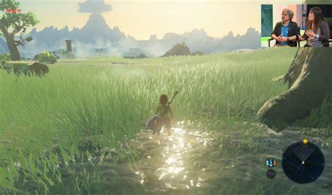 breath zelda wild legend e3 gameplay demo nintendo confirms features during livestream action ibtimes