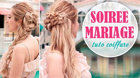coiffure pour mariage invité a faire soi meme tuto coiffure soir 233 e mariage rapide et facile 224 faire soi
