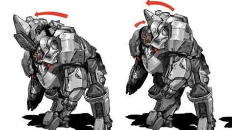 These Concept Designs For Rhino In 'Amazing Spider-Man 2 ...