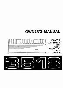 Alpine 3518 Wiring Diagram