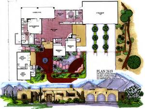 style homes with interior courtyards arizona house plans southwestern architecture and design