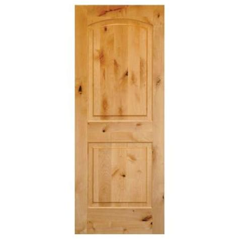 home depot solid wood interior doors krosswood doors 30 in x 80 in rustic knotty alder 2