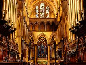 Photograph Salisbury Cathedral Interior by ...