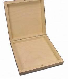 Cd Box Holz : quadratische holzbox cd holzbox holz schachtel linde unbehandelt aufbewahrungsboxen aus holz ~ Whattoseeinmadrid.com Haus und Dekorationen