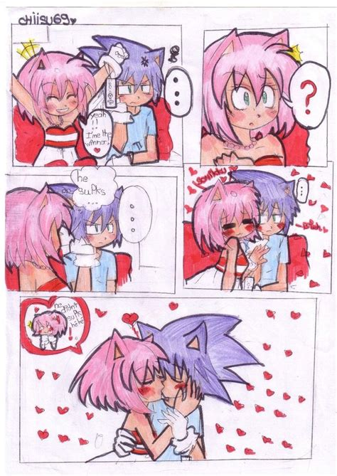 17 Best Images About Sonamy On Pinterest Sonic And Amy