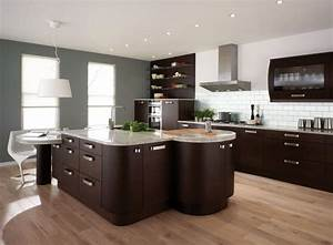 best 25 dark wood kitchens kitchen design backsplash With best brand of paint for kitchen cabinets with california wood wall art