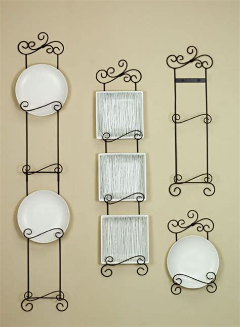 vertical plate hangers arabesque vertical plate racks  tier home decor pinterest