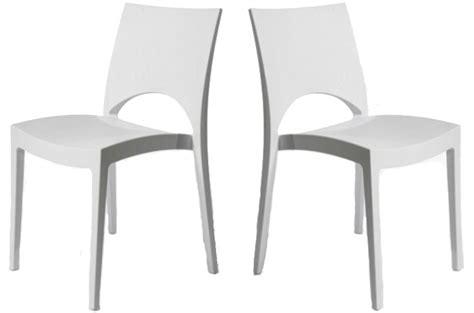 chaises cuisine blanches chaise de cuisine blanche pas cher en ligne
