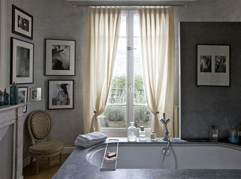 rideau salle de bain fenetre chaios