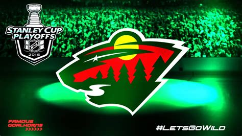 minnesota wild  playoffs goal horn youtube