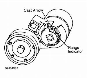 1993 Cadillac Deville Serpentine Belt Routing And Timing