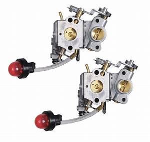 Poulan 2 Pack Of Genuine Oem Replacement Carburetors