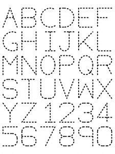 images  alphabet tracers  pinterest