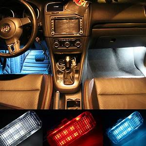 2010 Vw Tiguan Light Replacement Car Led Foot Lights For Vw Cc Sagitar Magotan Tiguan