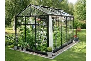 Serre En Polycarbonate Ou En Verre : serre euro maxi largeur m jardin couvert ~ Premium-room.com Idées de Décoration