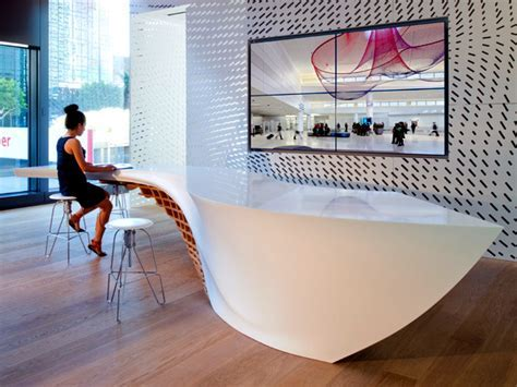Innovative table design for reception room   Interior