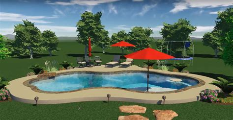 Pool Design by 3d Pool Designs Varsity Pools Patios Pool Design