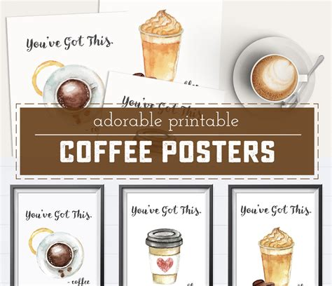 The ultimate manual espresso maker? Free Printable Coffee Posters - Sweet Anne Designs