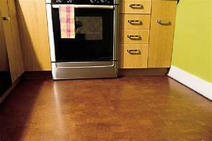 Delightful decor flooring for kitchens sunday news for How to install floating cork flooring