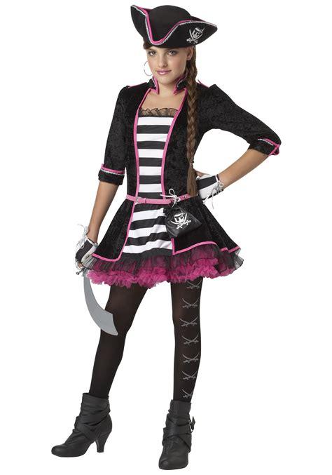 Tween High Seas Pirate Costume